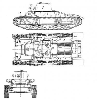 A11 Infantry Tank Mk I Matilda I Velka Britanie Gbr